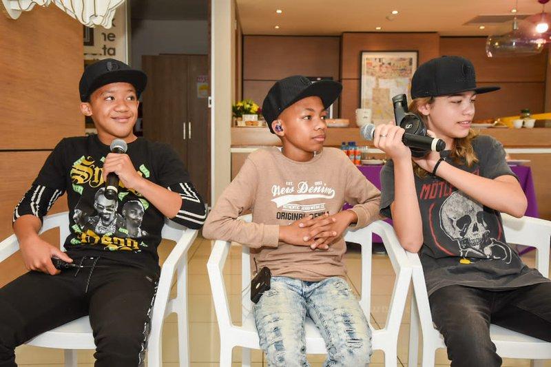 My Kid Rocks band three