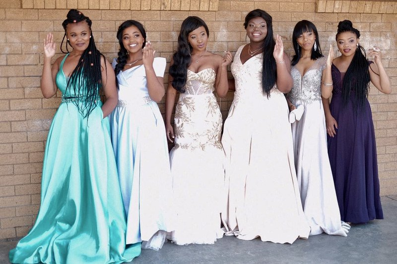Matric farewell girls