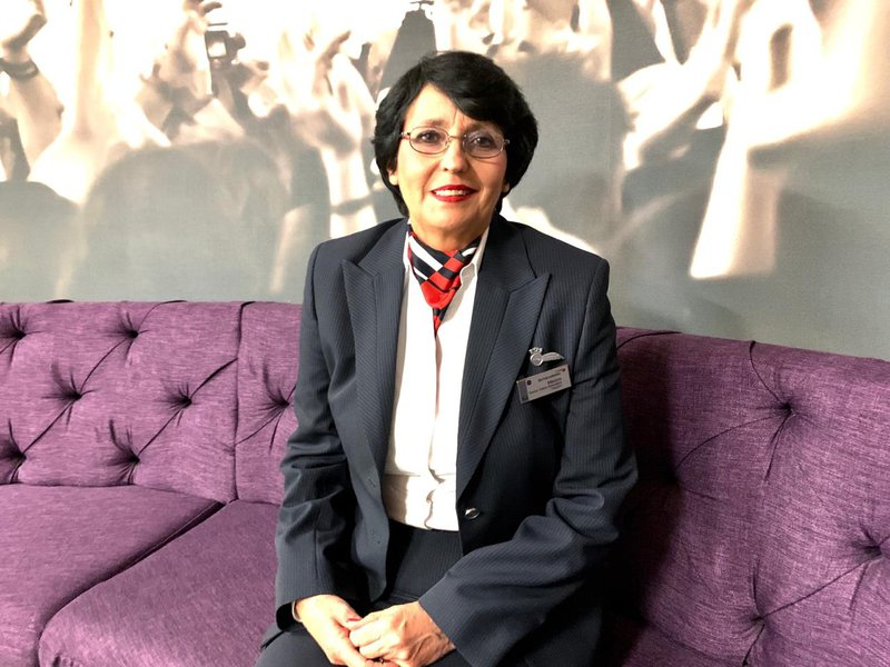 Marion Fernandes is Africas longest serving flight attendant