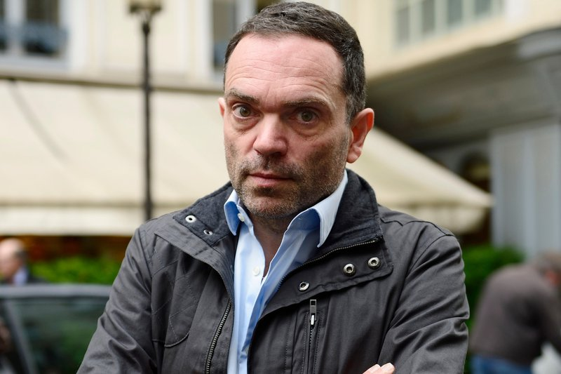 Author Yann Moix