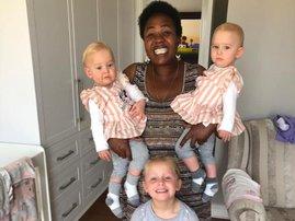 Mandy Sibanyoni and three South African siblings that died in New Zealand Maya, Karla and Liane Dickason