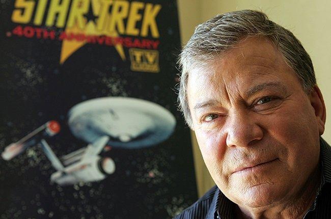 "William Shatner, who played Captain James T.Kirk in ""Star Trek"