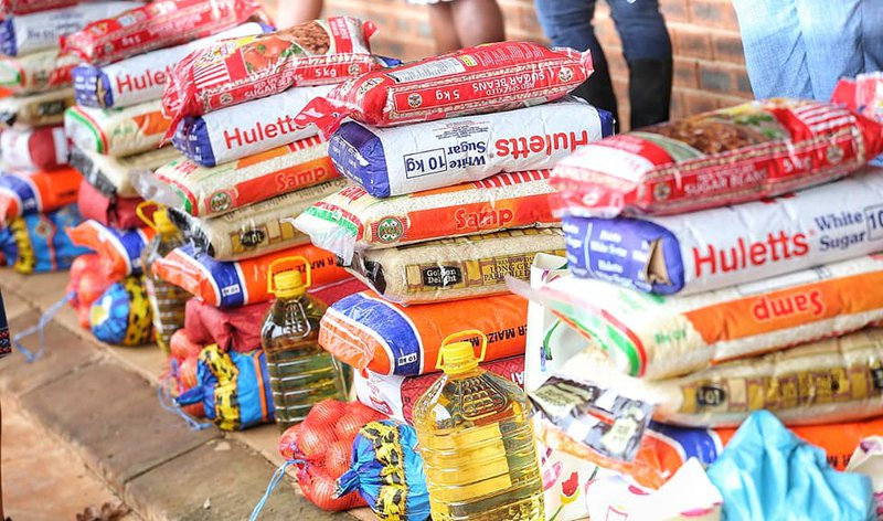 Relief packs donated to PMB community