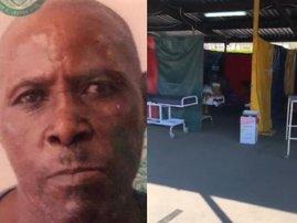 Elderly PMB man dies in hospital's COVID-19 makeshift shelter
