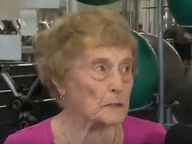 94-year-old gym fanatic