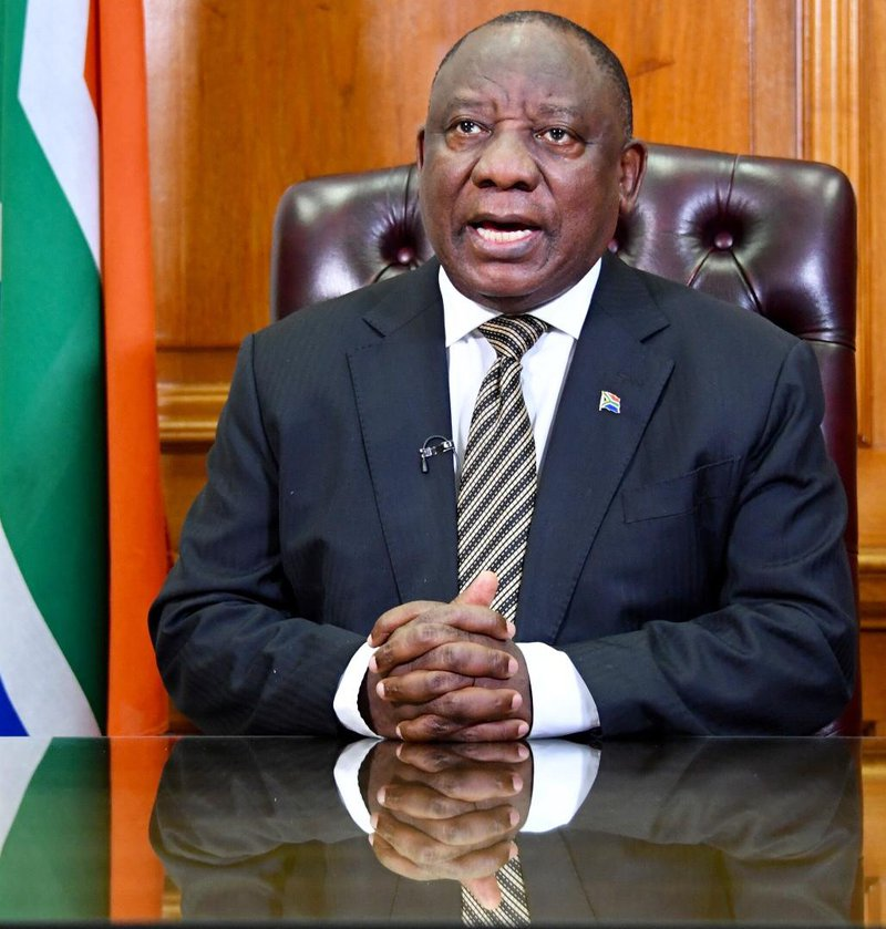 Cyril Ramaphosa announces move to level 1