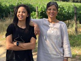 Carla Mackenzie and mother