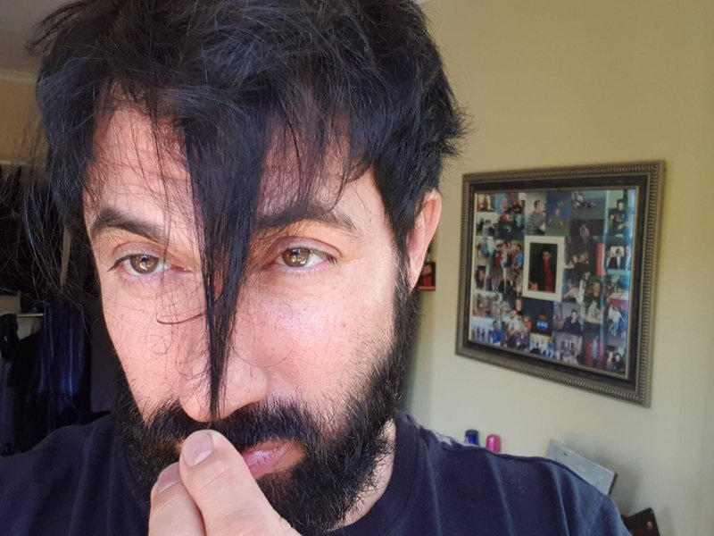 Martin Beter haircut