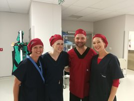 Dr Marcel Niemandt and the Intercre Hazeldean team