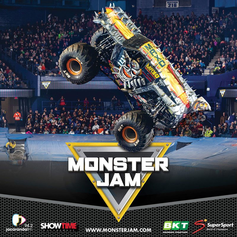 Monster Jam thunders into SA for the FIRST TIME EVER