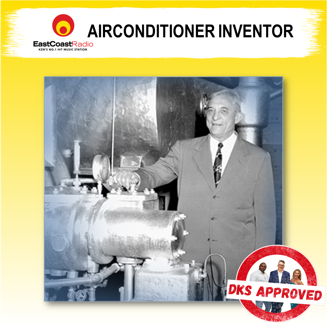 #dksapproved inventor of aircon