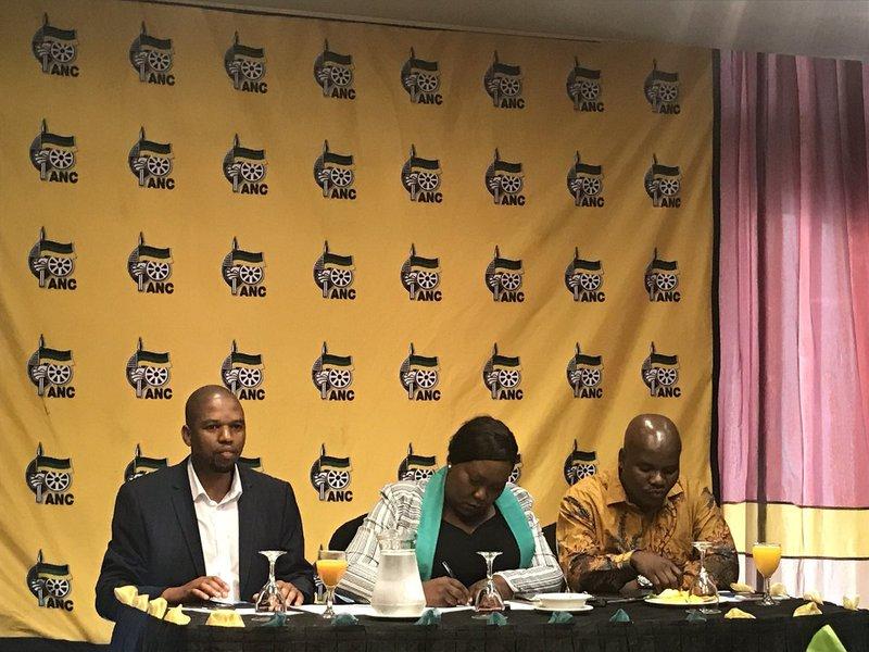 KZN ANC's Bheki Ntuli, Nomagugu Simelane-Zulu, Mdumiseni Ntuli