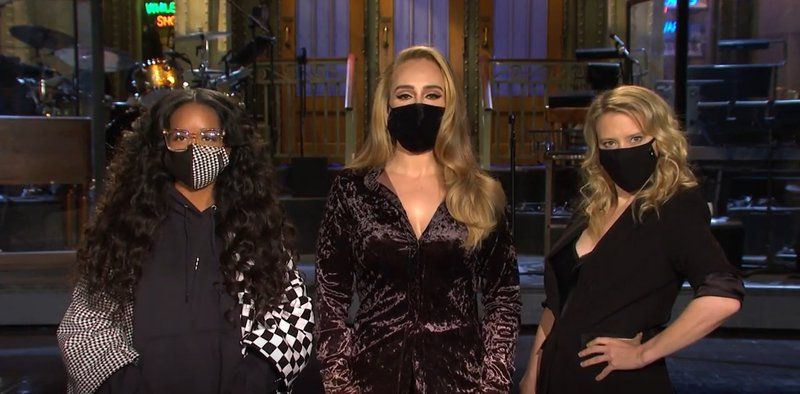 Adele SNL Accent