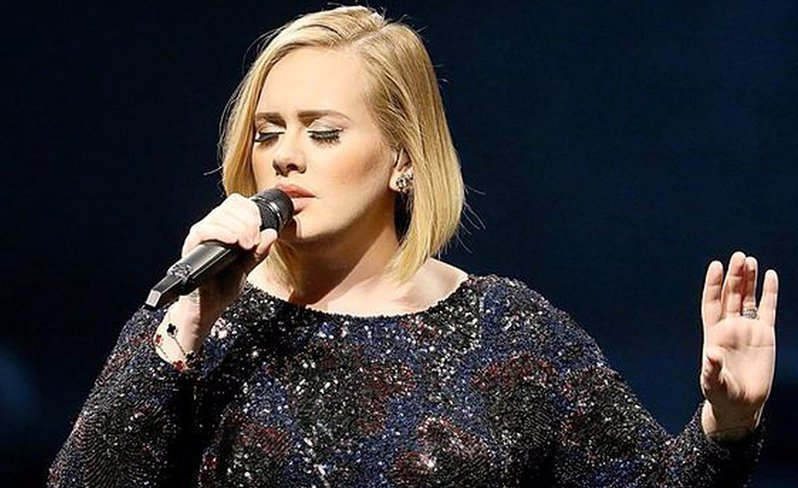 Adele dedicates song to London