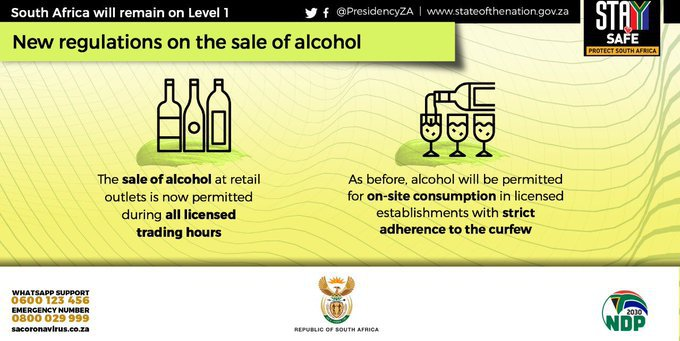 Alcohol amended