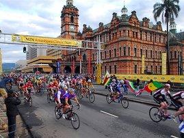 Amashova cycling race