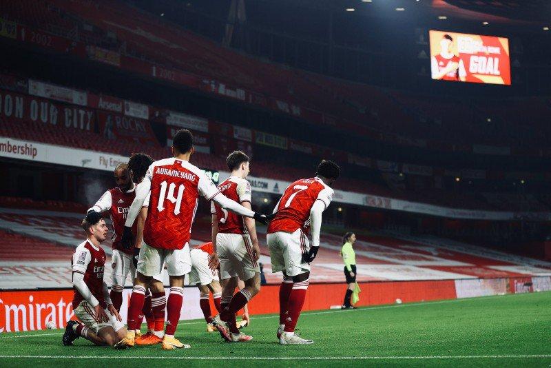 FA Cup 2020/2021 Arsenal vs Newcastle