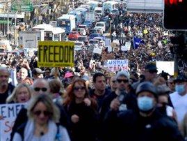 Australia anti-lockdown protests