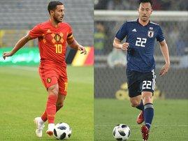 Belgium and Japan