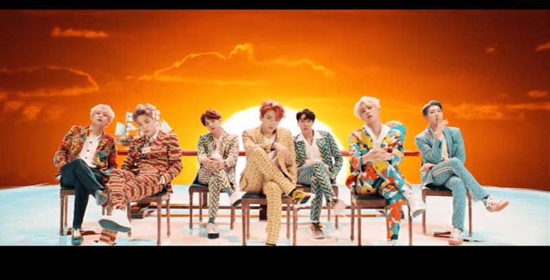 BTS 'Idol' music video