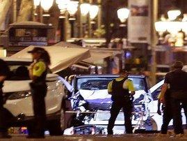 Barcelona attack -van