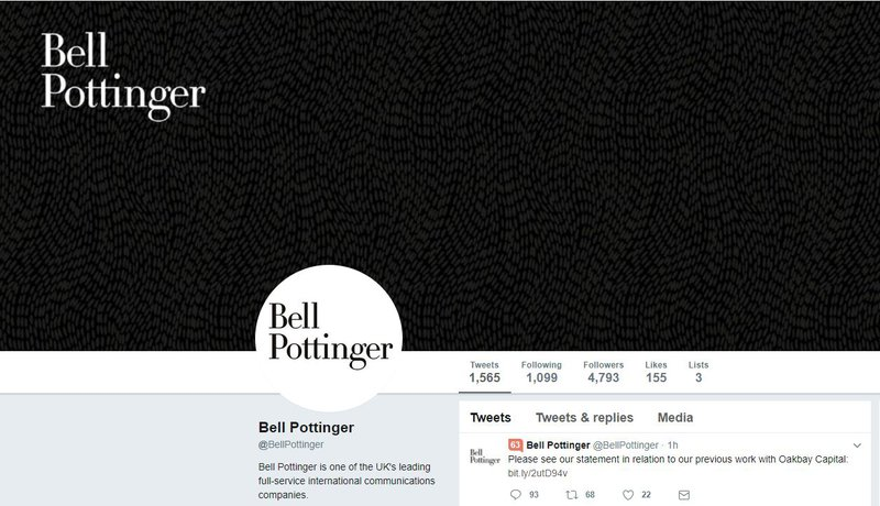 Bell Pottinger to release full report on Oakbay dealings