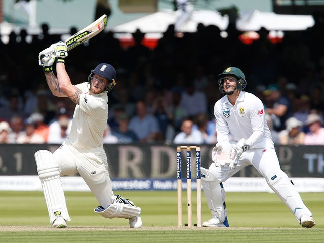 Stokes, Pope hundreds and late wickets put England on top