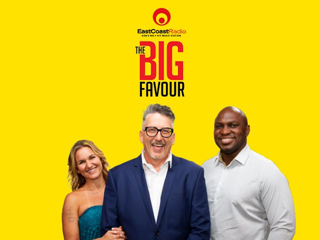 Big Favour - podcast section