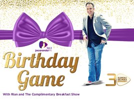 Birthday game button