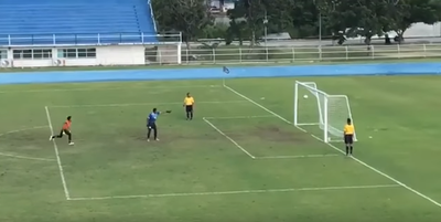 'Magic' penalty leaves Thai goalie in despair