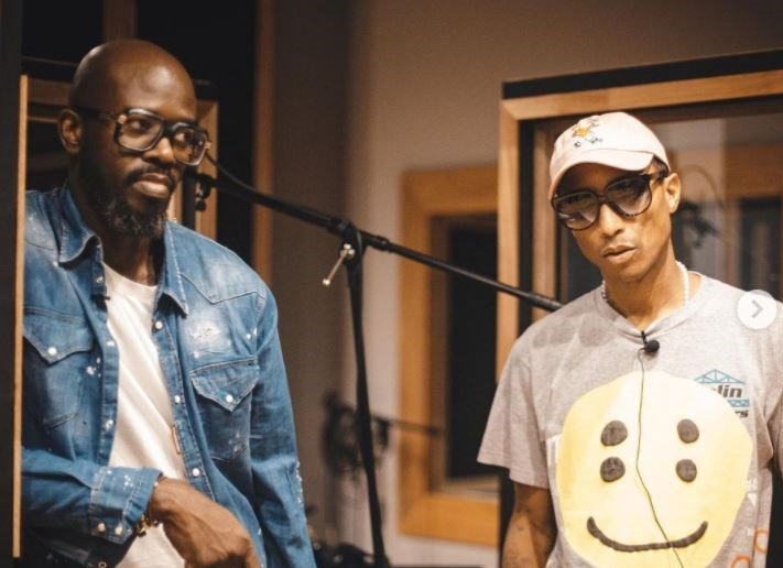 Black Coffee and Pharrell Williams