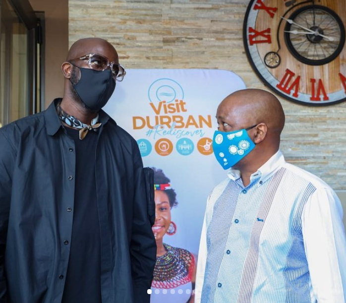 Black Coffee partners with Durban Tourism to highlight our city