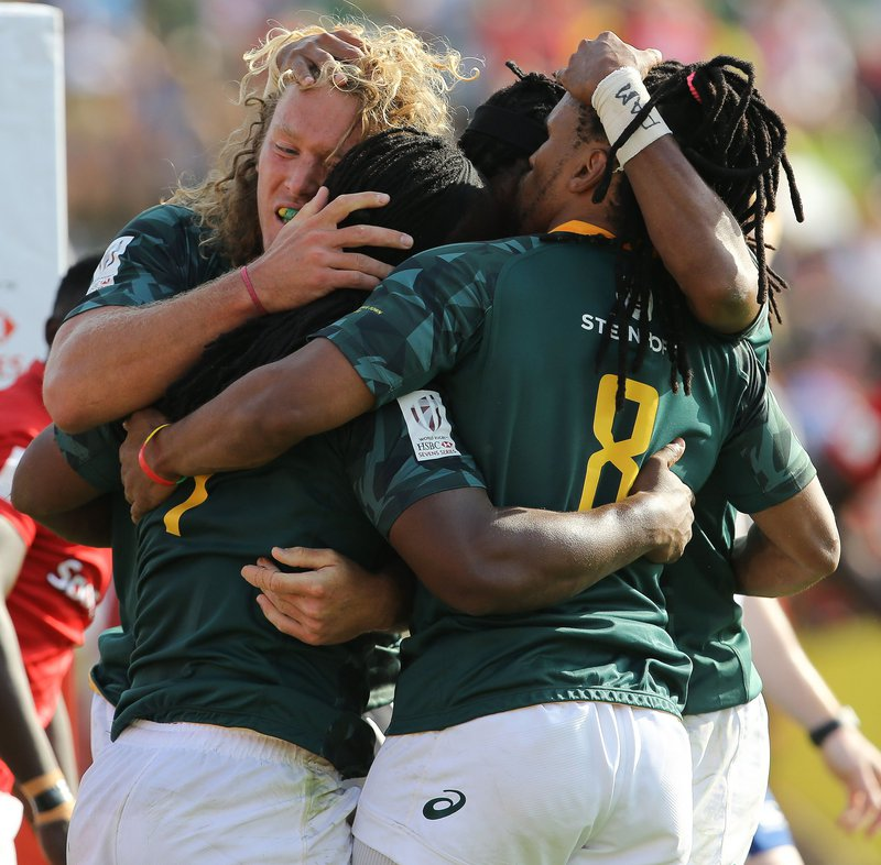 Blitzboks eke out win over Samoa for second Dubai Sevens win