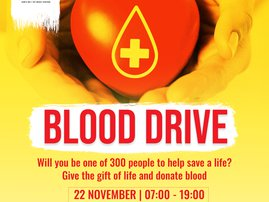 SANBS blood drive supplied