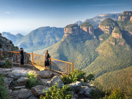 Love heights? Then you will love the first of it's kind skywalk in the Blyde Canyon Nature Reserve, coming soon!