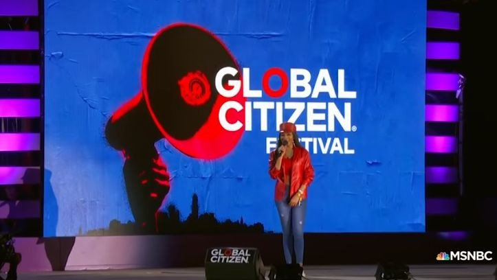Global Citizen Festival Bonang