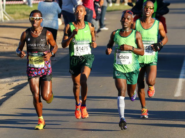 Mthembu prefers comrades up run negle Images
