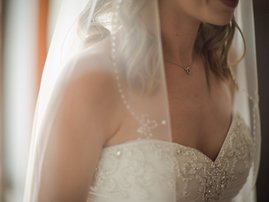 Chest of a bride