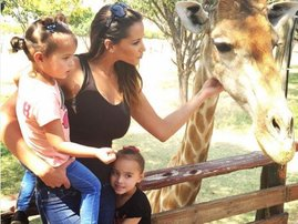 Lee-Ann Liebenberg and her daughters' style