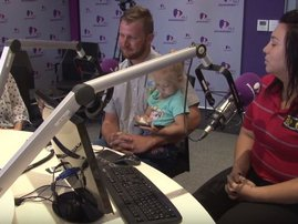 CJ's family on Breakfast with Martin Bester