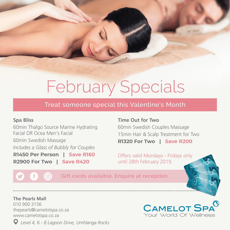 Camelot Feb specials