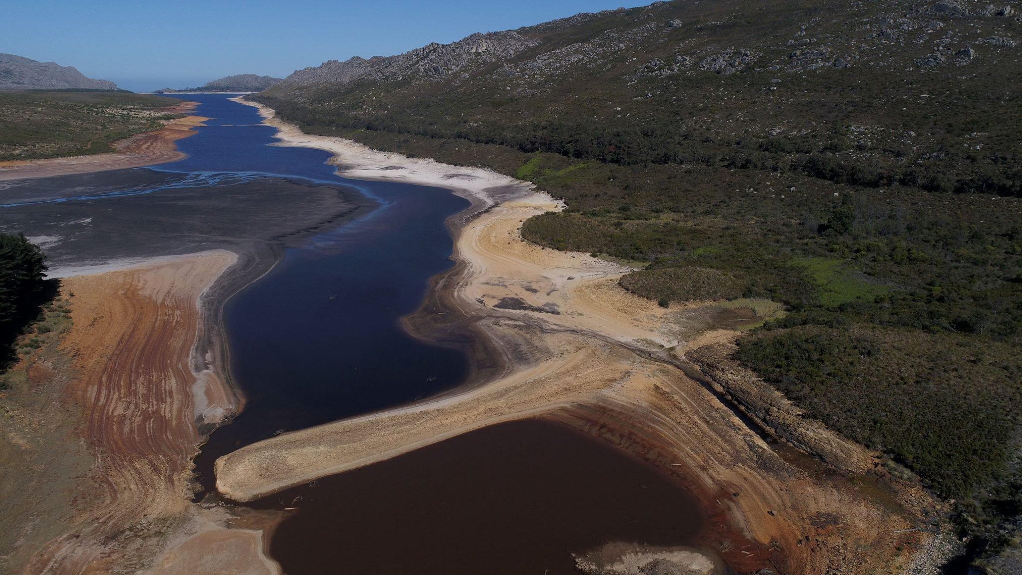 Cape Town dam levels 1