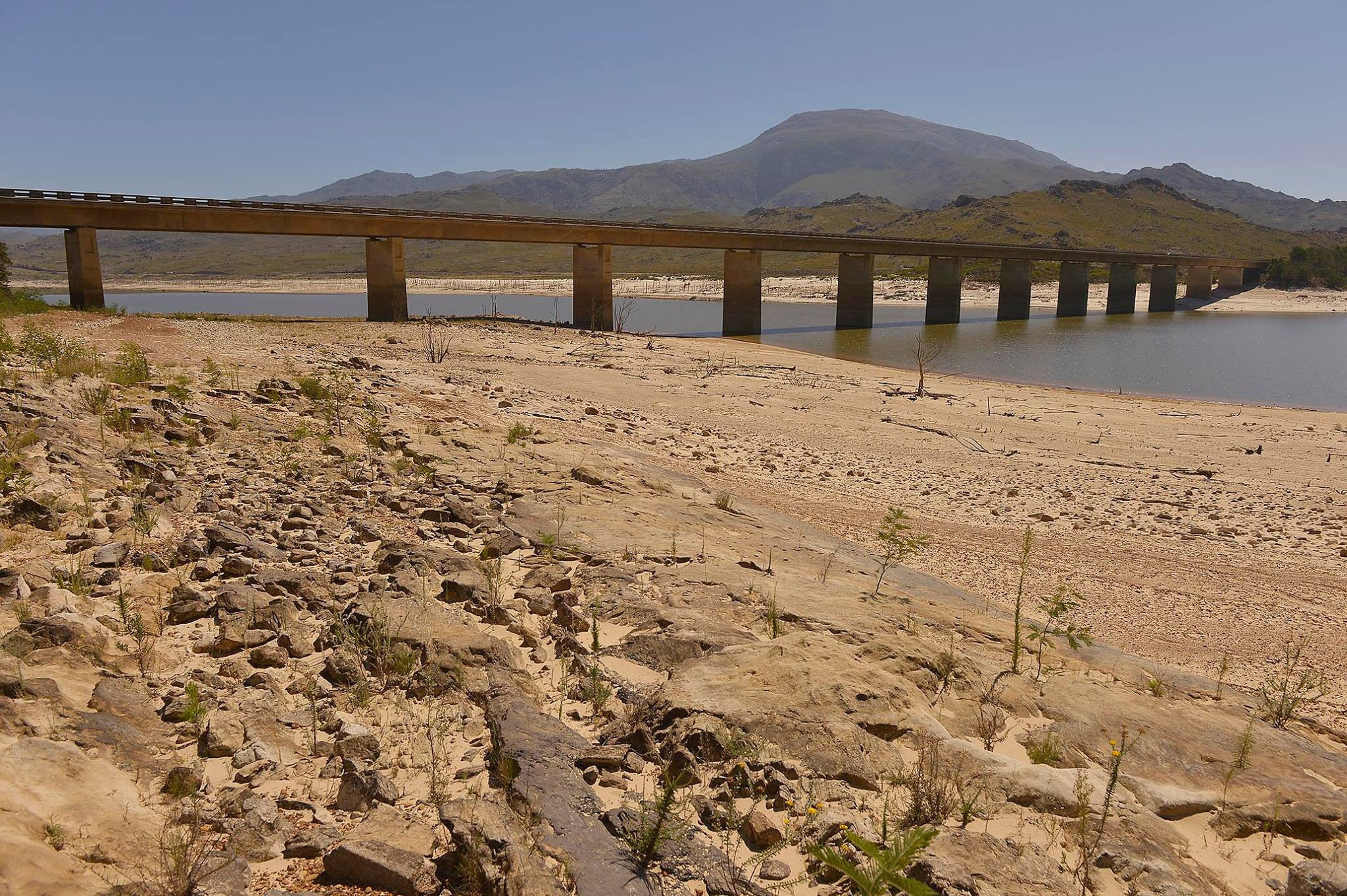 Cape Town dam levels 2