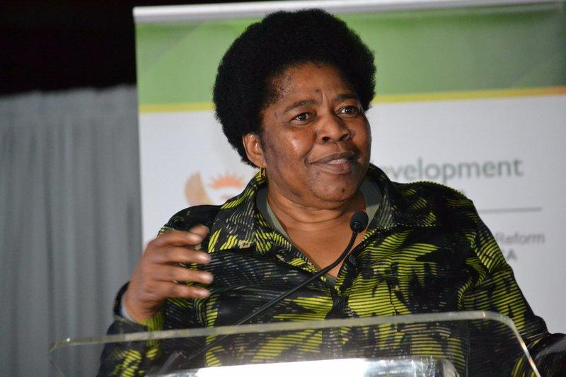 Rural Development Deputy Minister Candith Mashego-Dlamini