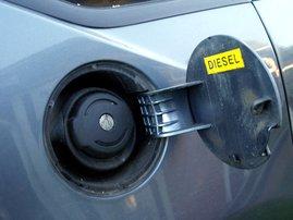 Car diesel tank