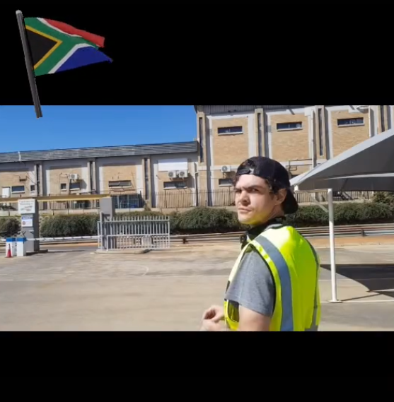 Themba Robins shares a skit on car guards