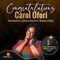 #WCW: Carol Ofori has been nominated for a Sebenza 'Women in Radio' award