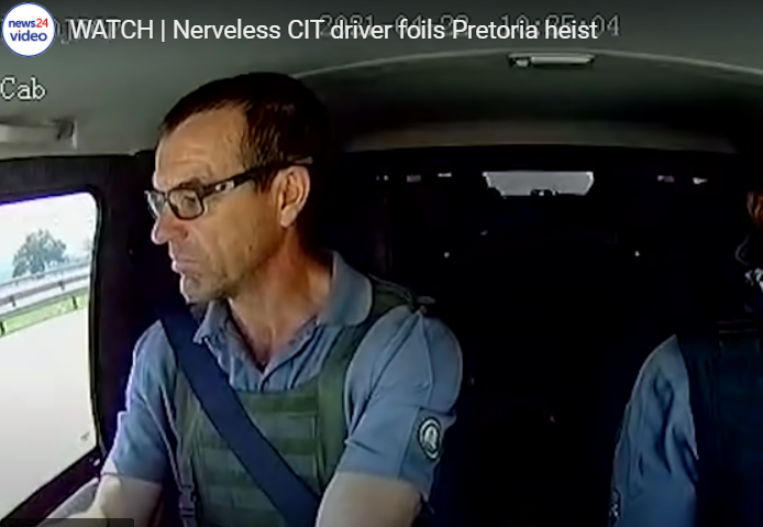 WATCH: The 'Transporter' has nothing on this CIT driver!