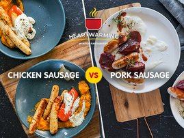 Chicken Sausage vs Pork Sausage