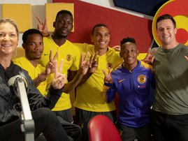 Kaizer Chiefs with East Coast Drive